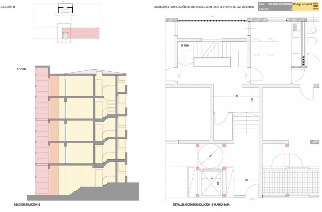 Proyecto de rehabilitación y mejora de la accesibilidad. Ayuntamiento de Alcorcón.