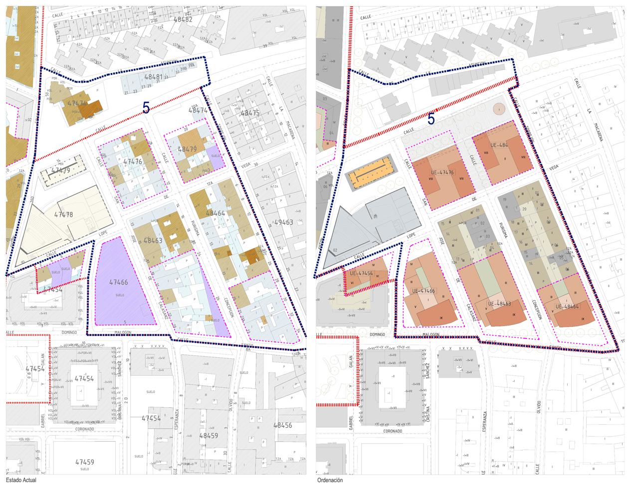 Plan especial de rehabilitación urbana. Arquitecto: Francisco Pol.